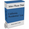 California  Residential Phone Leads