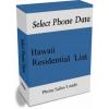 Hawaii Residential Phone Leads