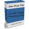 12.5 MillionCanada Homeowners Data