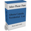 Alberta Canada Residential Phone Leads