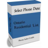 Ontario Residential Phone Leads