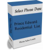 Prince Edward  Residential Phone Leads