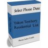 Yukon Territory Residential Phone Leads